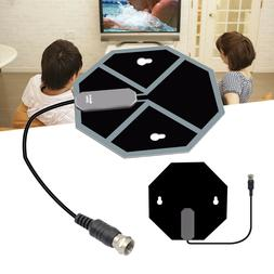 Flat HD Digital Mini Thin Indoor Aerial TV Antenna Definitio