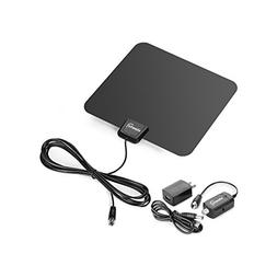 ViewTV Flat HD Digital Indoor Amplified TV Antenna - 40 Mile