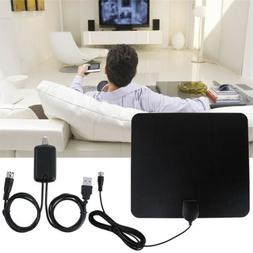 Flat Indoor Digital Tv Antenna 50-100 Miles Range Signal 108