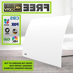 Mohu Flow 40-Mile Range Designer Indoor HDTV Antenna  - GET