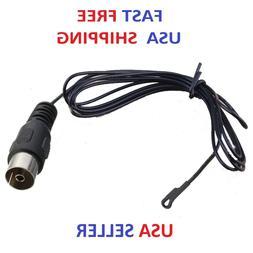 FM Radio/Video/Home Audio/TV Indoor Antenna With Black Femal