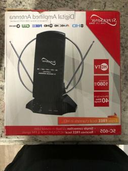 Free TV HDTV and Digital Amplified TV Indoor Antenna Free Ch