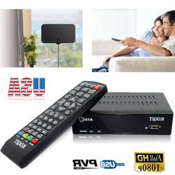 FULL HDMI VHF UHF ANTENNA + ATSC DIGITAL ANALOG CONVERTOR TV