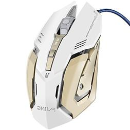 Gaming Mouse, P-JING Professional Optical Game Mice Ergonomi