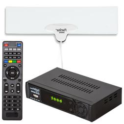 Digital Converter Box for TV Indoor Antenna HDMI Cable Bundl