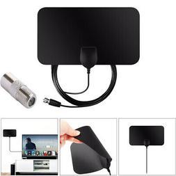 HD Amplifier Digital TV Antenna HDTV Portable Flat Indoor 10