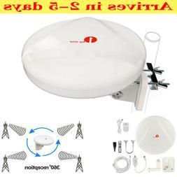 1Byone HD Concept Outdoor TV Antenna Amplifier Digital Omni-