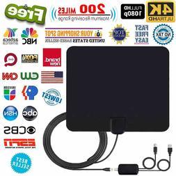 HD High Definition TV Fox HDTV VHF TVFox Antenna Amplifier 1
