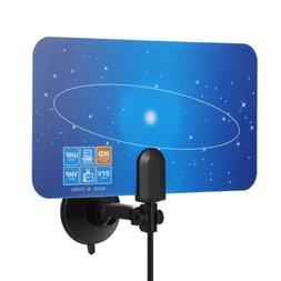 HD TV Antenna Indoor Digital HDTV Signal VHF UHF Receiver Fr