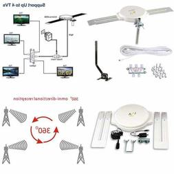 Lava HD8008 Omnidirectional Outdoor TV Antenna HD TV 4K 360