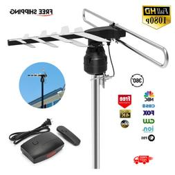 1Byone HDTV 1080P Outdoor Amplified Antenna Digital HD TV UH