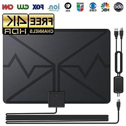 HDTV Antenna, Indoor Digital TV Antenna 80 Miles Range with