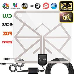 Wsky HDTV Antenna - Best HD Digital Indoor TV Antenna 65-10