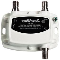 Hdtv Antenna Signal Amplifier Booster Digital Tv Catv Mini D