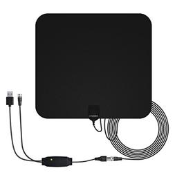 WochiTV HDTV Antenna 50 Mile Range Indoor Antenna Digital TV