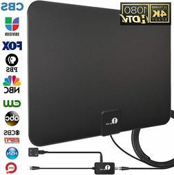 HDTV Antenna, TV Antenna Digital Amplified Indoor HD Up to 8