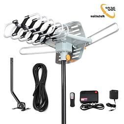 Outdoor TV Antenna 150 Miles Amplified Digital HDTV Antenna