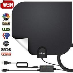 HDTV Antenna,Indoor Digital TV Antennas Amplified 140+ Miles