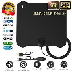 DRUPA  HDTV Antenna - Digital Amplified HD TV Antenna 60-80