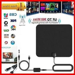 HDTV Antennas Indoor Mini HD Digital TV Antenna DVB-T2 USB I