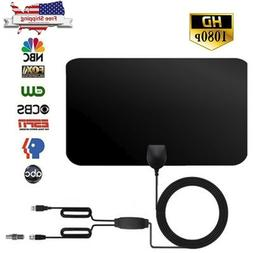 HDTV Free Cable Antenna With Amplifier Signal Booster With D