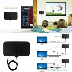 HDTV Free Cable Antenna with Amplifier Signal Booster Use Fr
