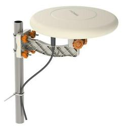 HDTV Outdoor Amplified TV Antenna 360° Omni-Directional Dig