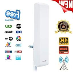 HDTV Outdoor Indoor Flat Panel Antenna for Digital TV1080p 4