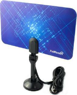HomeWorx HW110AN Digital/Analog Flat TV HDTV Indoor Antenna