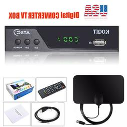 1080P Digital Convertor TV Box Analog Clear Cable ATSC HDTV