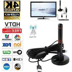 300 Mile HDTV Antenna Aerial HD Digital TV Signal Amplifier