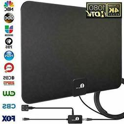 1byone HD Digital Indoor Amplified HDTV TV Antenna High Gain