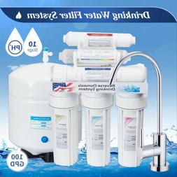 10 Stage Home RO Drinking Water Filter Reverse Osmosis Syste