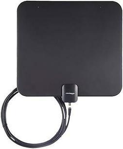 AmazonBasics Indoor Flat TV Antenna - 35-Mile Range