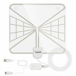 Indoor HD TV antenna Wsky terrestrial digital paper antenna