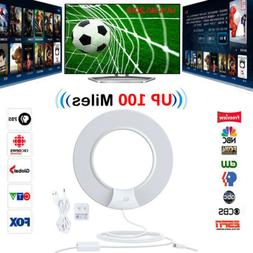 1Byone Indoor HD TV Antenna with Digital Amplified 100 Miles