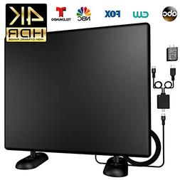 Kingkkong Amplified 120+Miles Ultra TV Antenna - Indoor/Outd