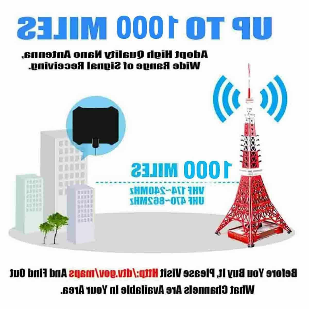 1000 miles TV Antenna HD 4K
