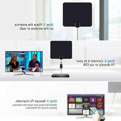 1000 Miles Antenna TV Digital 4K Antena HDTV