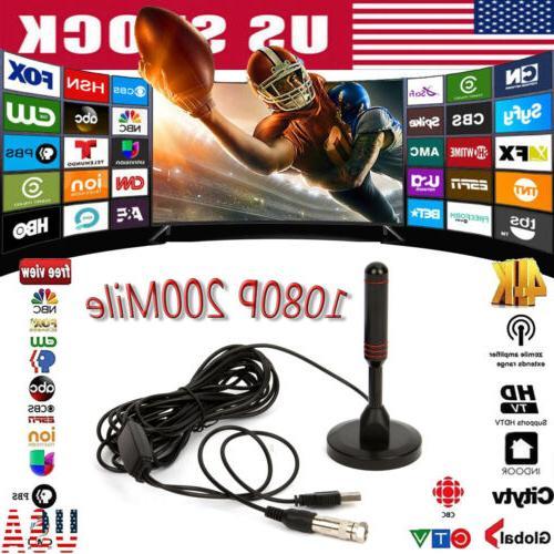 1080p 4k hd digital indoor amplified tv