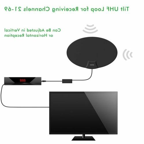 1080P Indoor Amplified Antenna with Amplifier Miles