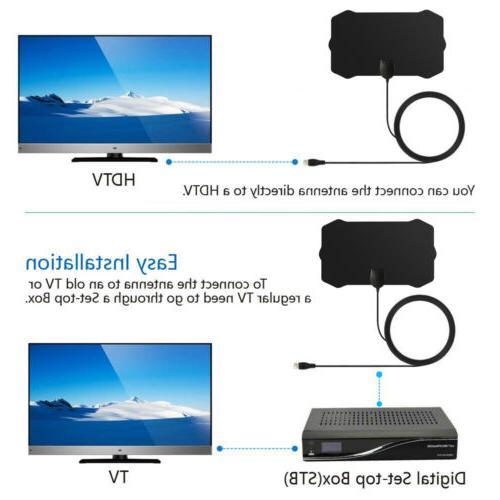 1080P HD Mile Range HD Antena Digital Indoor HDTV