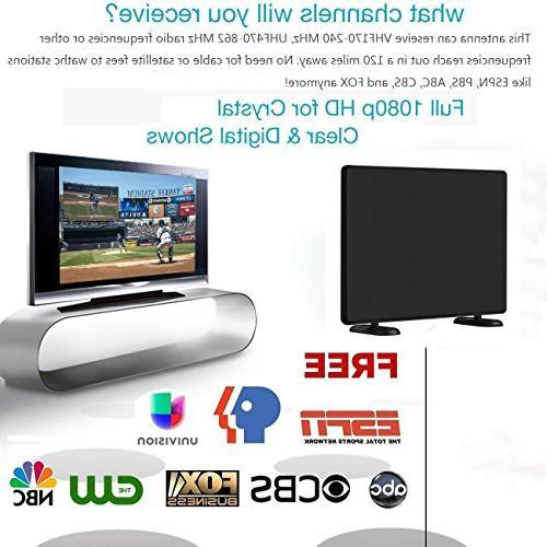 AliTEK Ultra Amplified TV - Upgraded Digital Antenna,