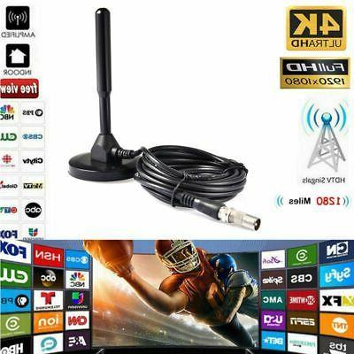 1280 Miles Ranges Antenna Digital  Indoor 1080P HD TV Digita