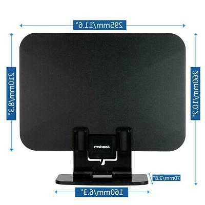 150Miles Amplified HDTV Antenna Standing