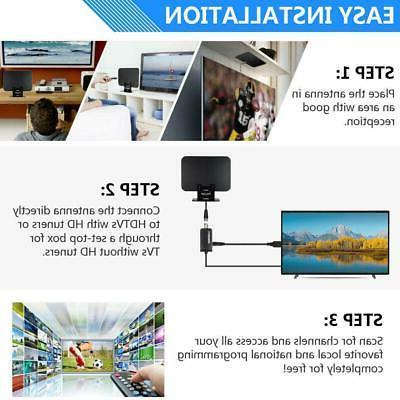 150Miles 1080P HDTV HD Digital Antenna