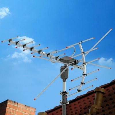 150miles tv antenna amplified long range outdoor