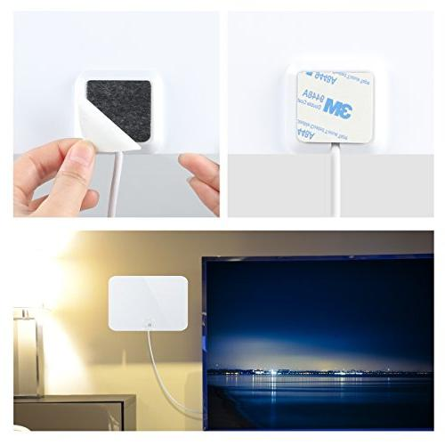 1byone and Indoor Antenna, Miles with Feet Coaxial Cable