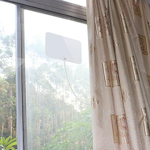 1byone Shiny Indoor Antenna, Miles Feet High