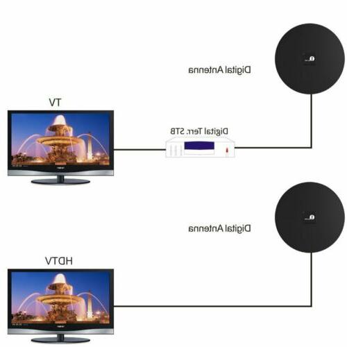 1byone Ultra Flat TV Amplified FM/VHF/UHF 35 Miles